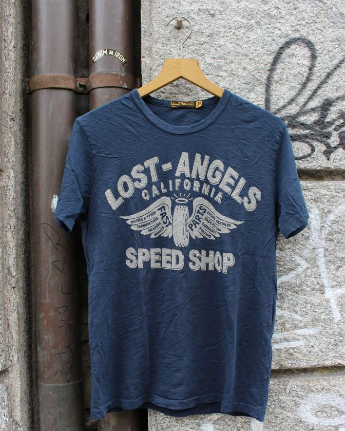 Johnson Motors Lost Angels T-Shirt dead navy_1