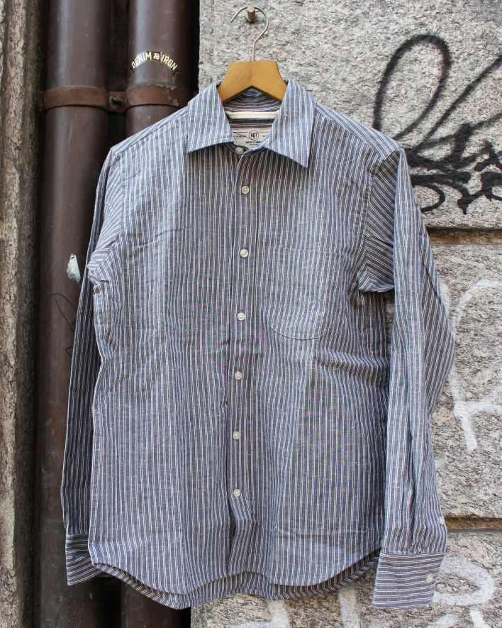 RGT Jumper Shirt Neppy Double Stripe_1.1
