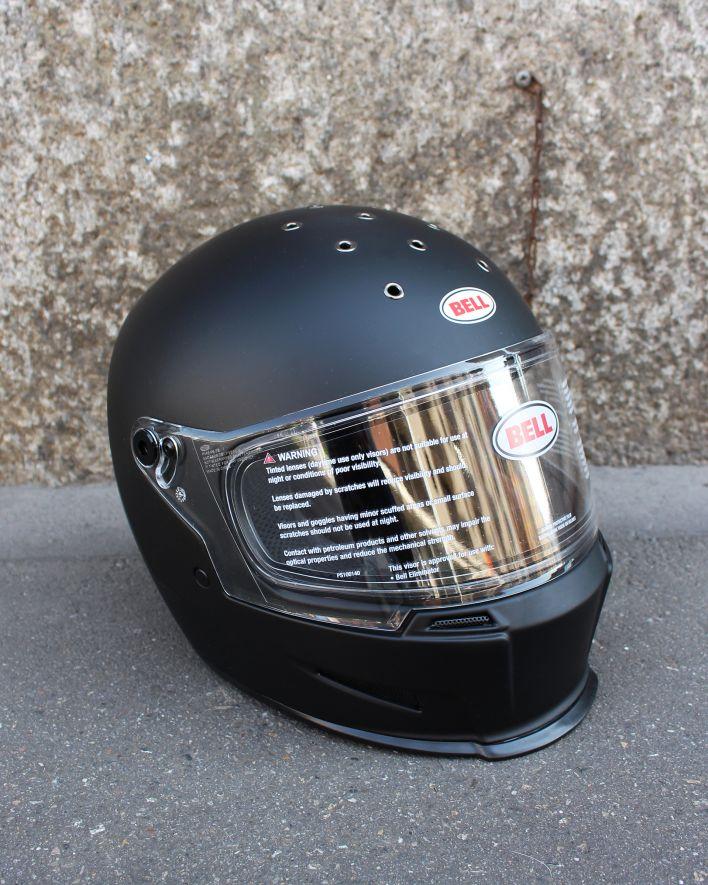 Bell Eliminator Integral Helm solid matte black_2