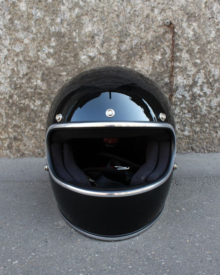 Biltwell Gringo ECE Full Face Helmet gloss black_1