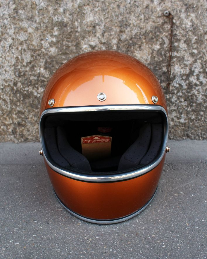 Biltwell Gringo ECE Full Face Helmet gloss copper_1