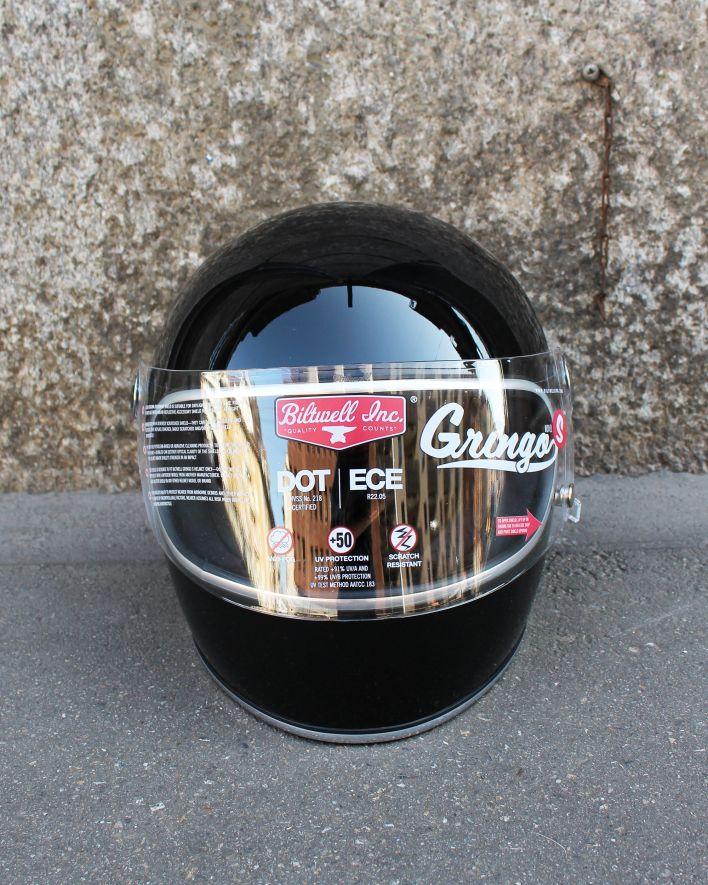 Biltwell Gringo S ECE Full Face Helmet gloss black_1