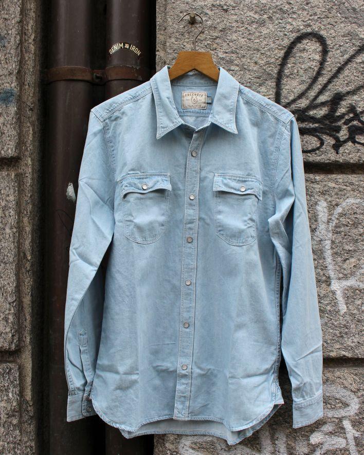 Freenote Lancaster Shirt bleached_1