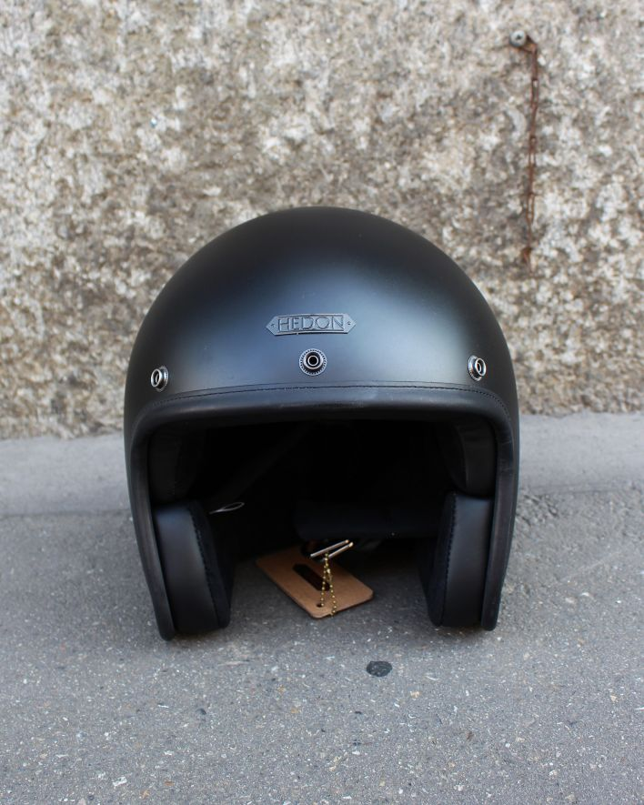 Hedon Hedonist Jet Helm coal_1