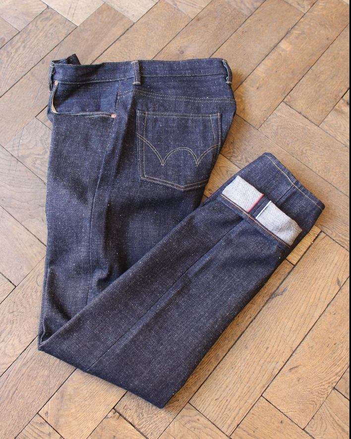 Edwin Classic tapered Jeans blue raw state Japan_1