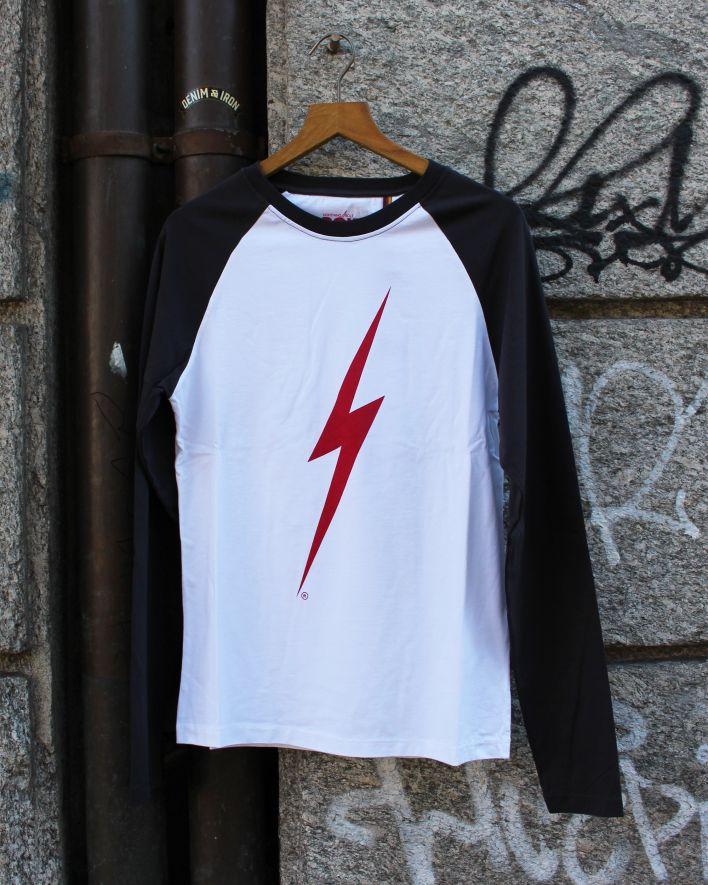 Lightning Bolt Forever Longsleeve white black_1