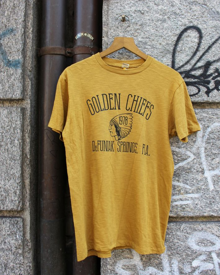 Velva Sheen Golden Chiefs T-Shirt mustard_1
