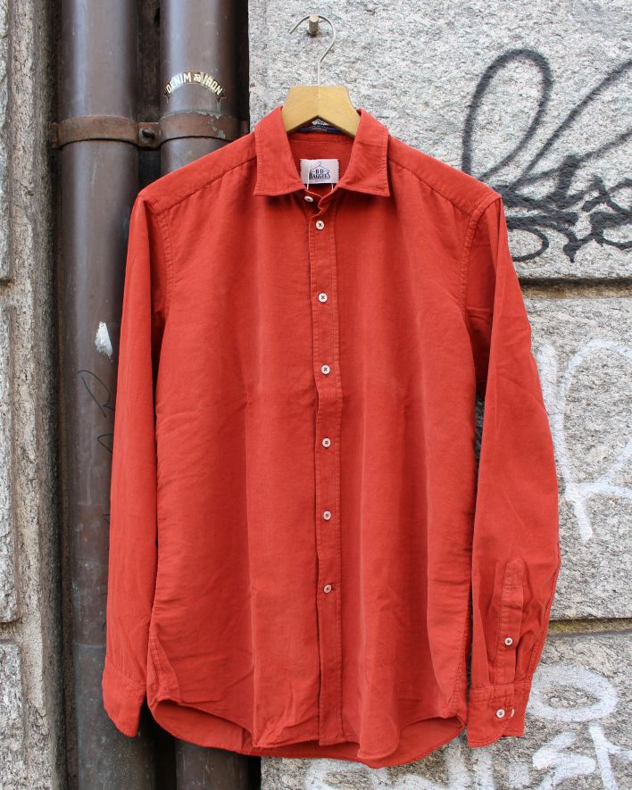 B.D. Baggies Bradford Shirt Corduroy rust_1