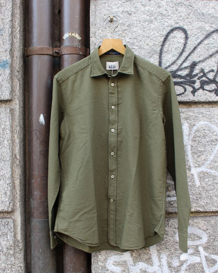 B.D. Baggies Bradford Shirt Oxford olive_1