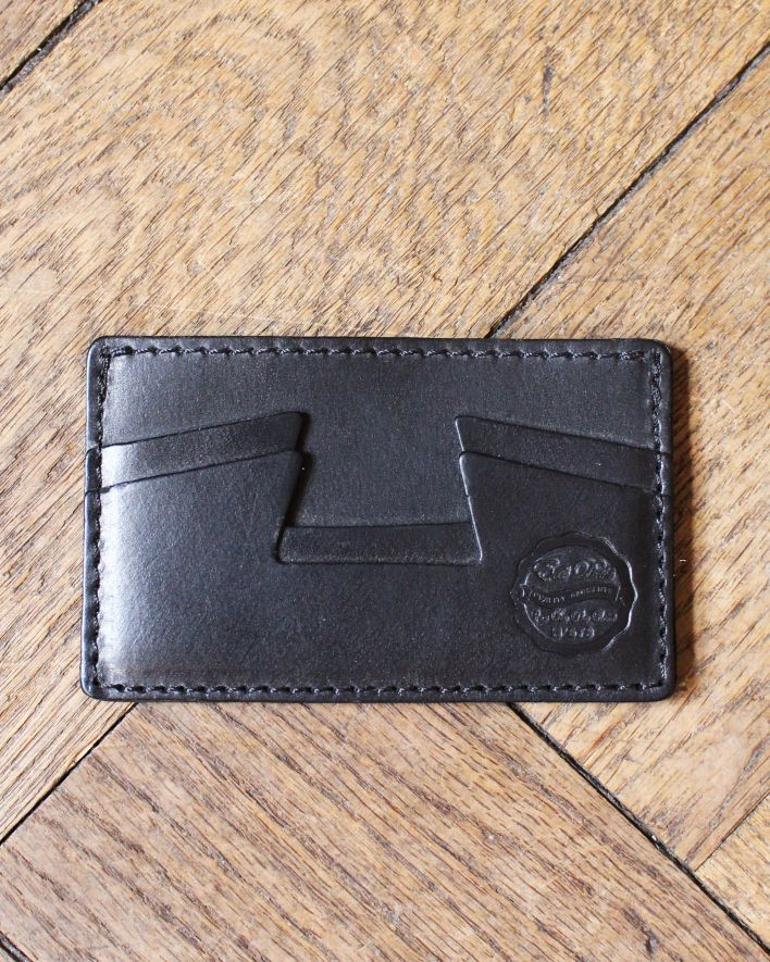 Eat Dust Creditcard Holder Leather black_1
