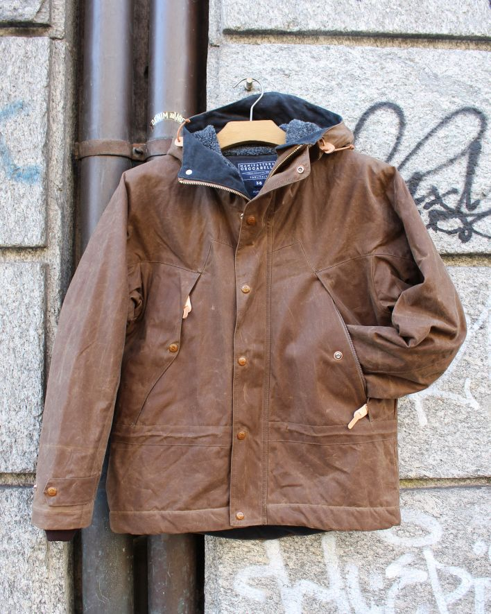 Manufattura Ceccarelli Mountain Jacket dark tan_1