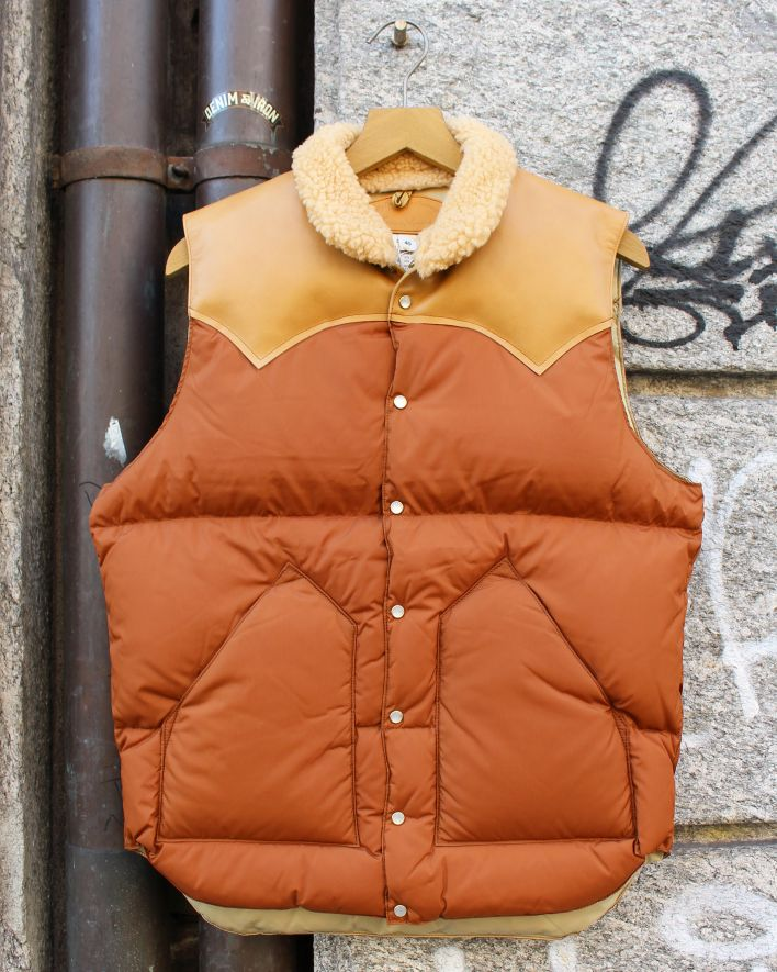Rocky Mountain Featherbed Christy Down Vest brown_1