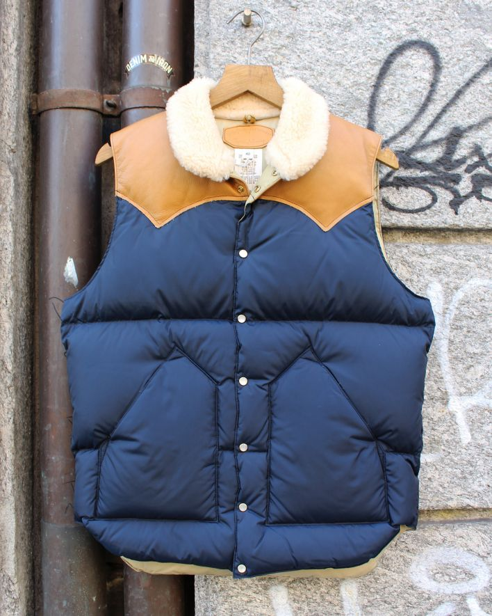 Rocky Mountain Featherbed Christy Down Vest navy_1