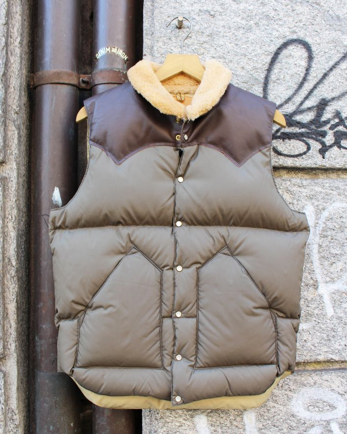 Rocky Mountain Featherbed Christy Down Vest olive_1