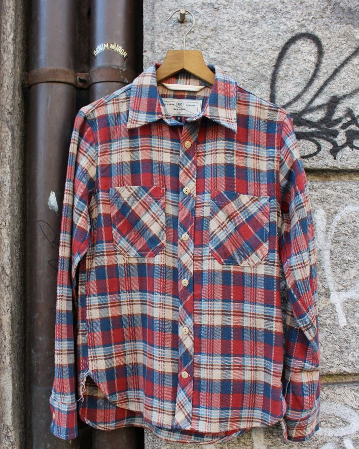 Rogue Territory BM Work Shirt Classic plaid_1