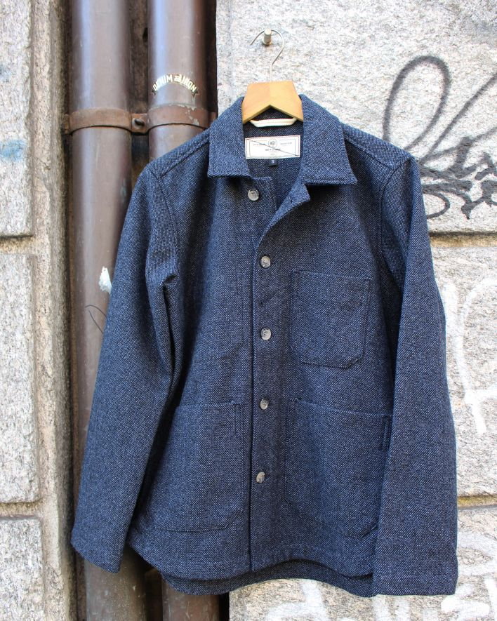 Rogue Territory Harbor Blendet Wool Jacket navy_1