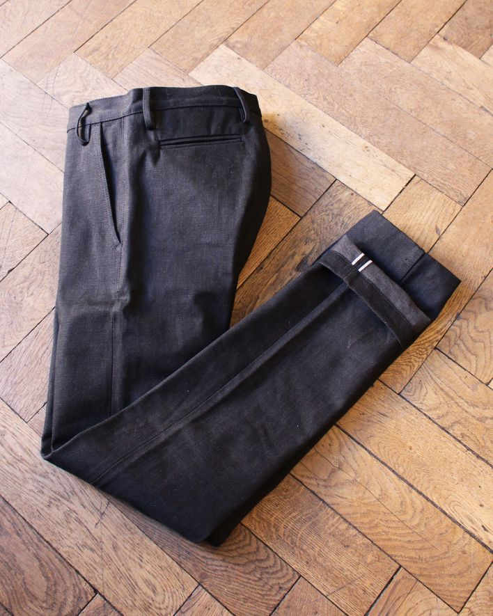 Rogue Territory Officer Trouser 15oz stealth raw_1