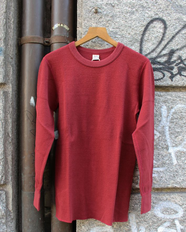 UES Thermal Shirt wine_1