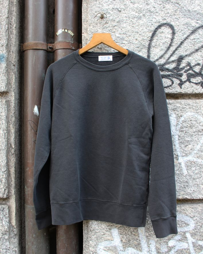 Velva Sheen Freedom Crew Neck Sweater 8oz black_1