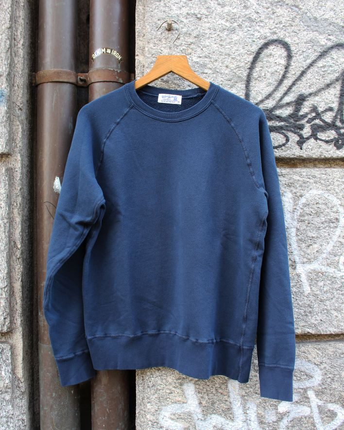Velva Sheen Freedom Crew Neck Sweater 8oz navy_1