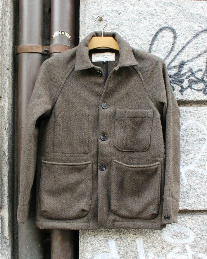RGT Explorer Blazer blended wool pine_1