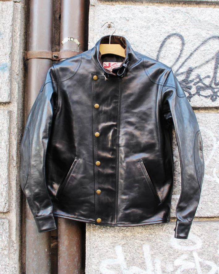 Addict Clothes AD-09 Ulster Jacket Horsehide black_1.2