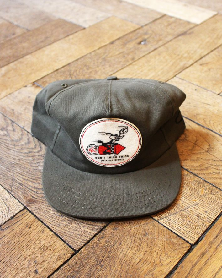 Ampal Don't think twice Cap olive_1