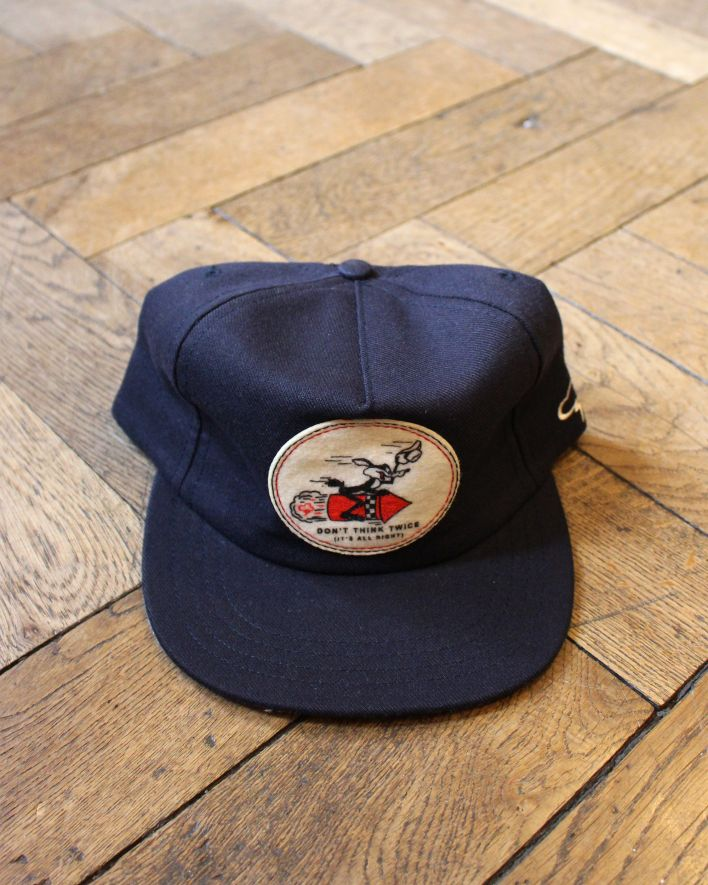 Ampal Don't think twice Wool Cap navy_1