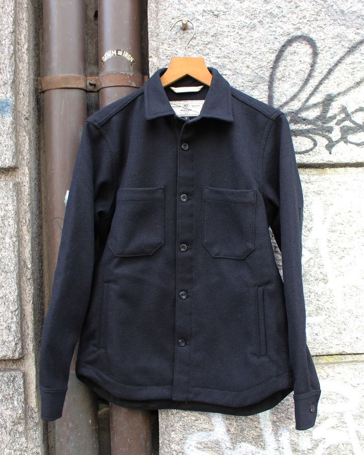 Rogue Territory Patrol Work Shirt Blended Wool navy_1