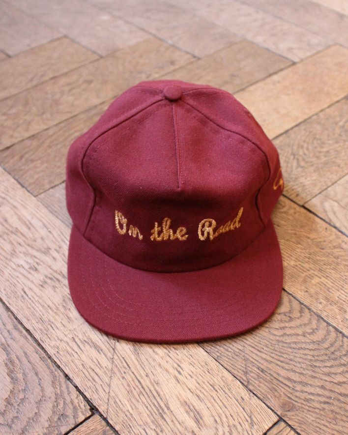 Ampal On the Road Cap Wool Cord bordeaux_1
