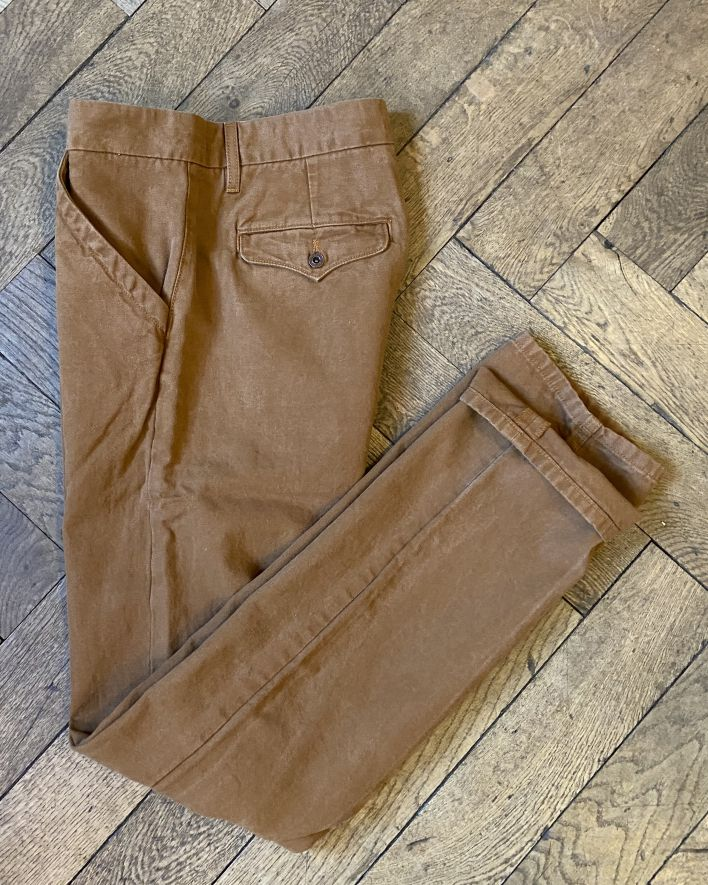 Freenote Workers Chino slim fit rust_5.1