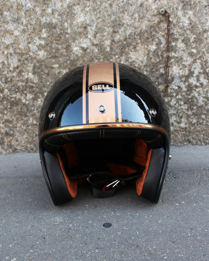 BELL Custom 500 DLX Jet Helm Rally black bronze_1