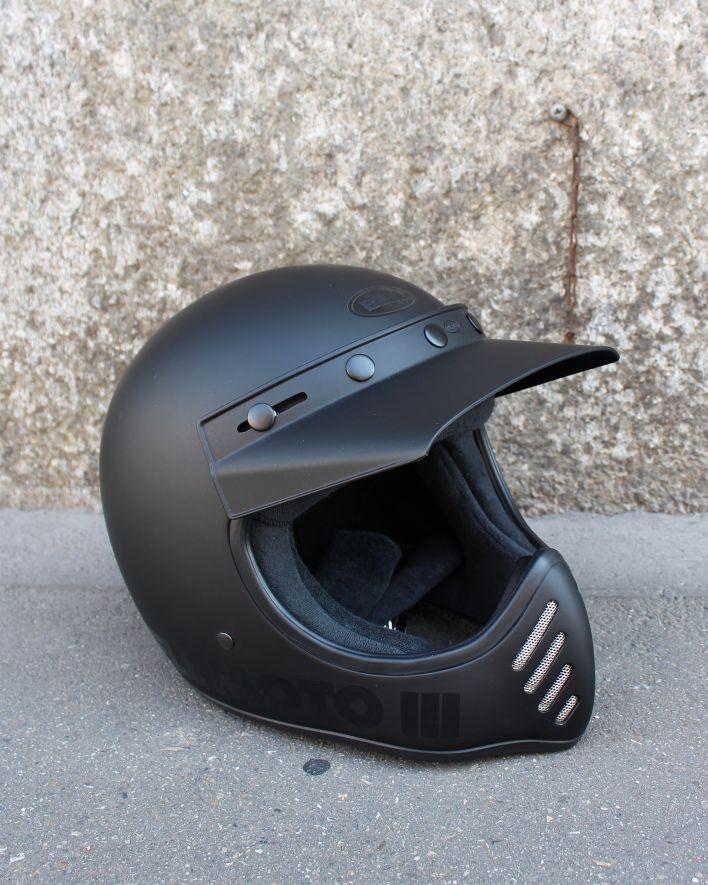 BELL Moto-3 Blackout matte gloss_1