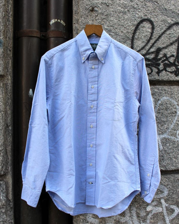 Gitman Vintage Oxford Shirt blue_1