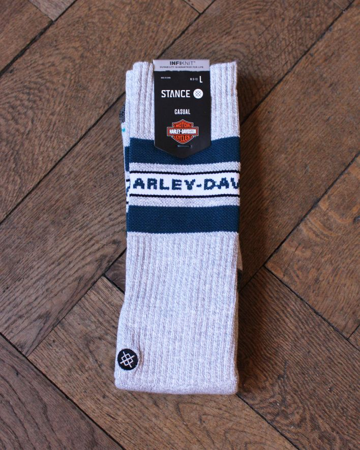 Stance Bubble OTC Harley Davidson Socks grey_1