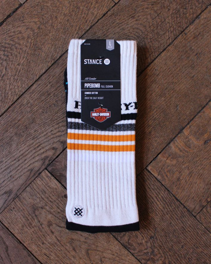 Stance Golden Days Boot Harley Davidson Socks grey_1
