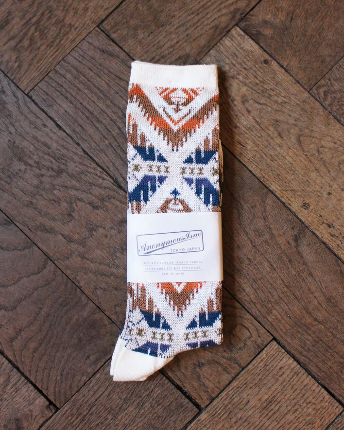 Anonymous Wigwam 85 JQ Crew Socks ivory_1