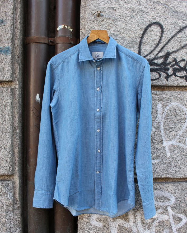 B.D.Baggies Bradford Shirt chambray_1