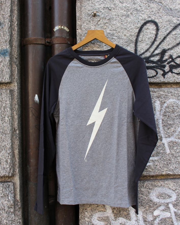 Lightning Bolt Forever Longsleeve heather grey_1