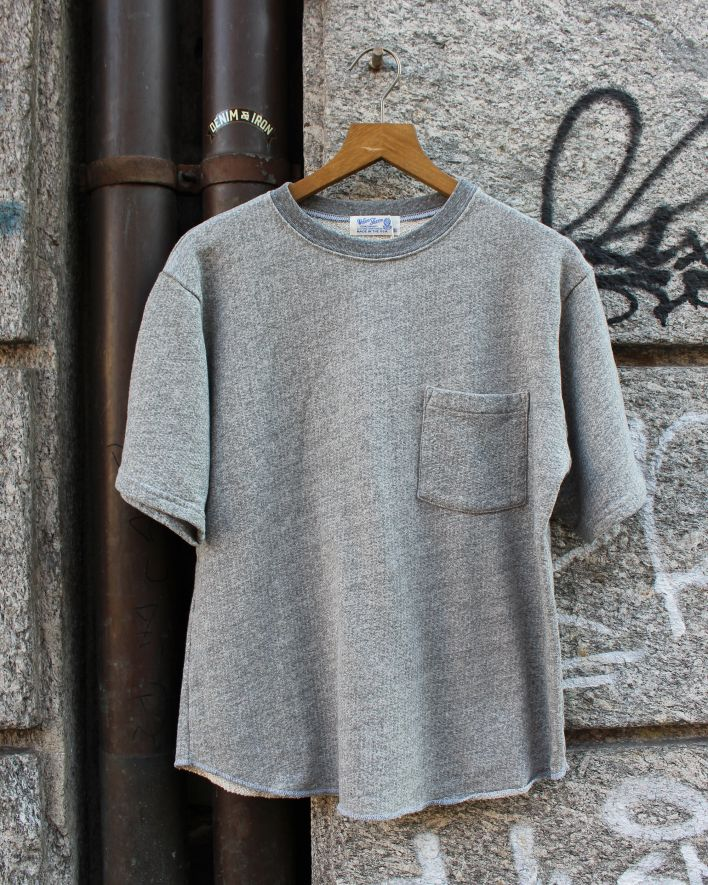 Velva Sheen STKY. Cut Off T-Shirt with Pocket grey_1