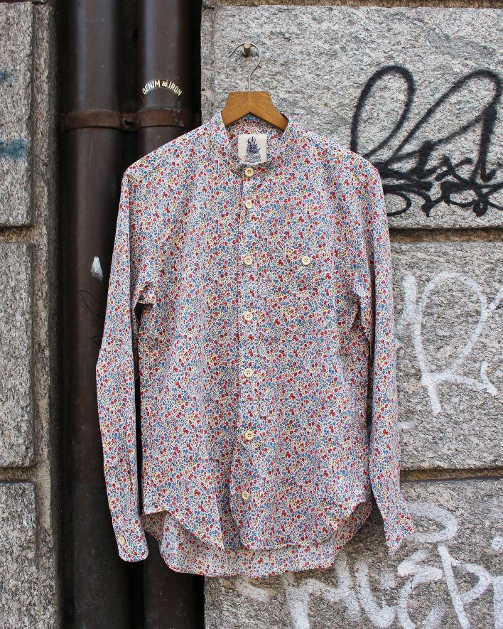 Captain Santors Floral Mao Shirt floral print_1