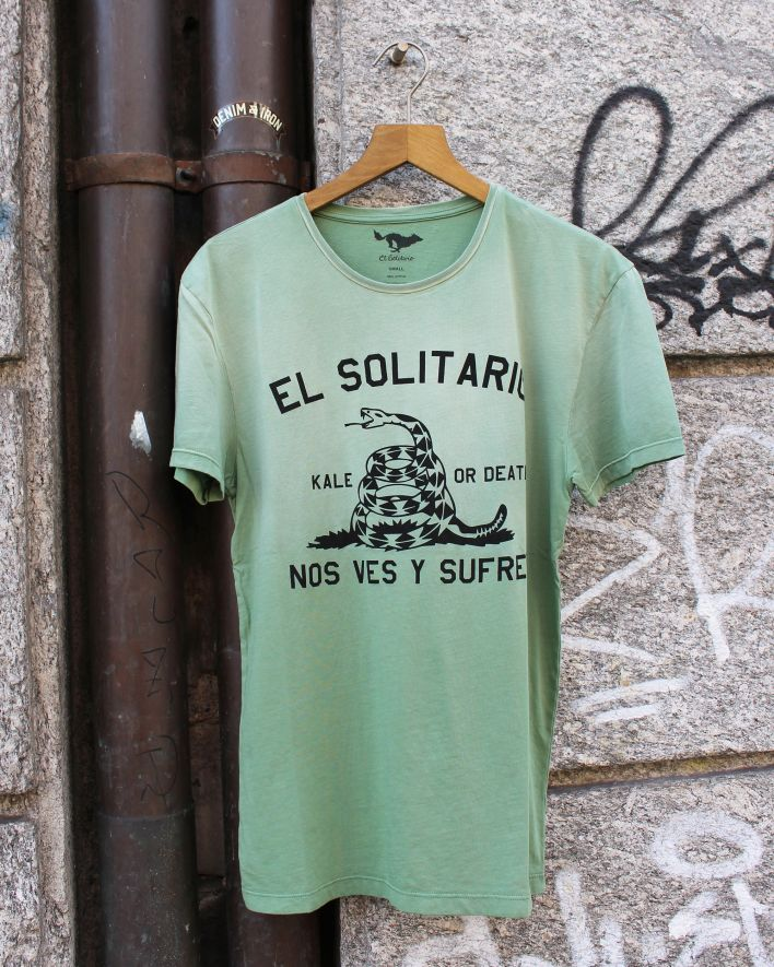 El Solitario Kale or Death T-Shirt green_1