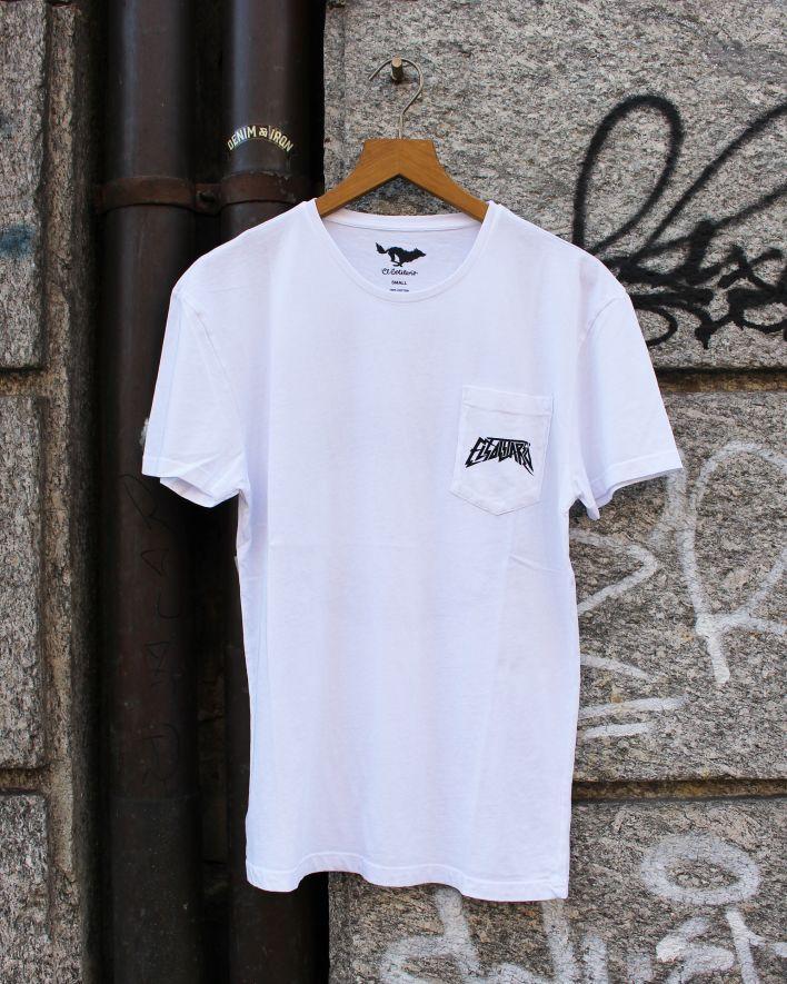 El Solitario Ouroboros T-Shirt white_1
