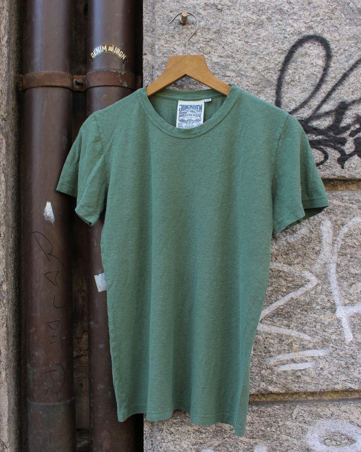 Jungmaven Jung T-Shirt spruce green_1