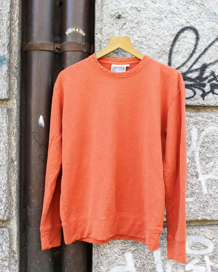 Jungmaven TAHOE Sweatshirt autumn orange_1