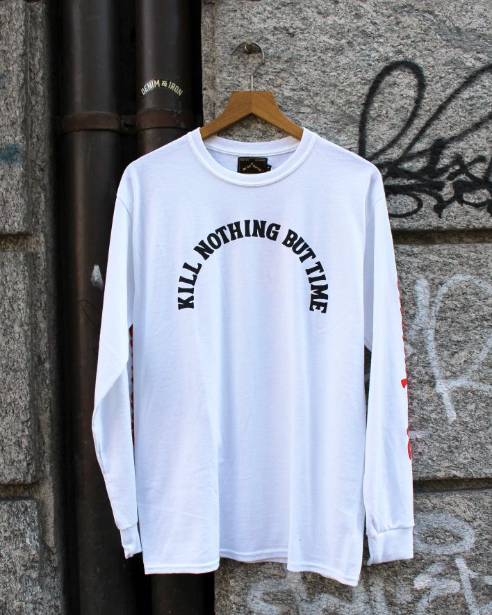 Blackways Kill nothing but time Longsleeve white_1