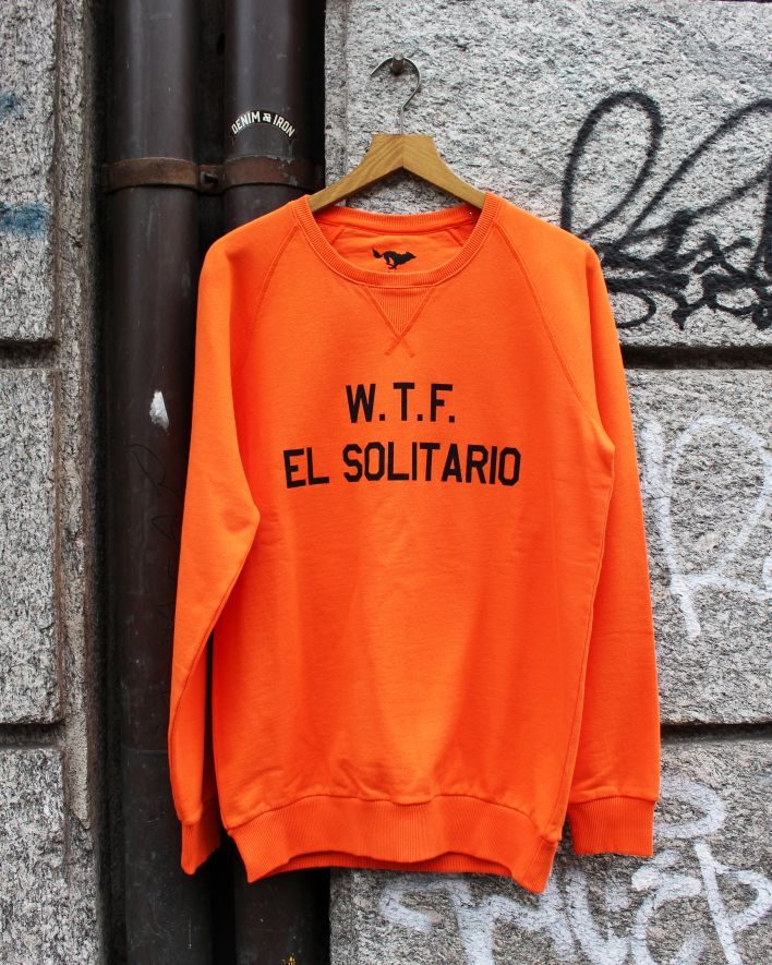 El Solitario WTF Sweater orange_1