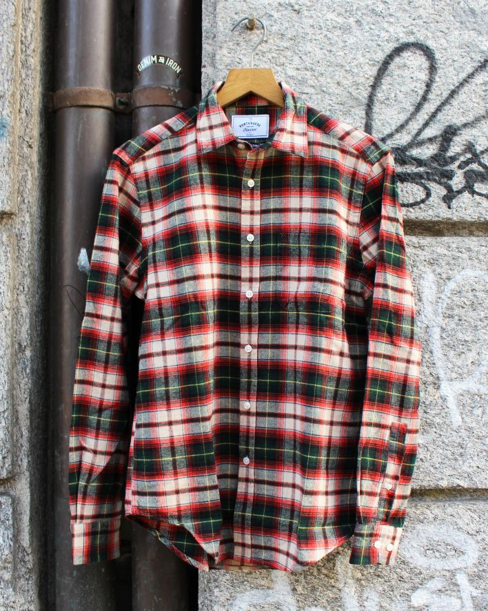 Portuguese Flannel Rustic Flannel Shirt multicolor plaid_1