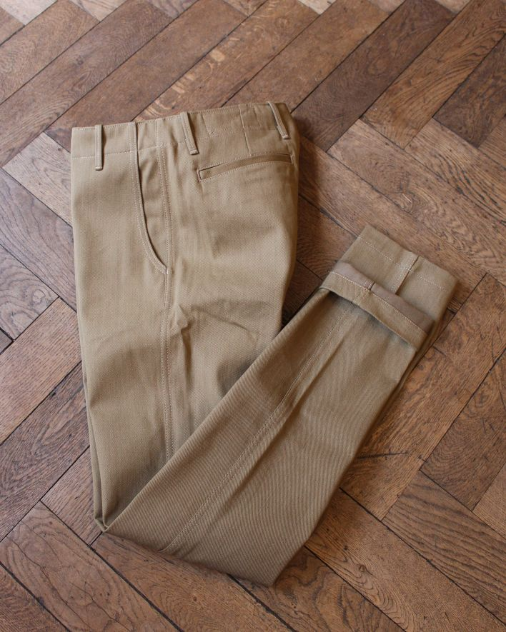Rogue Territory Infantry Pant Denim tan_1