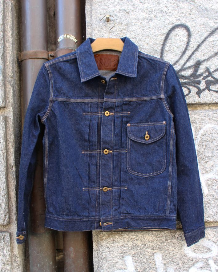 TCB CAT BOY Denim Jacket 13 oz. indigo one wash_1